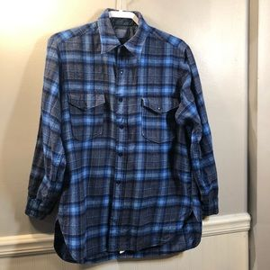 EUC Pendleton Vintage 100% Virgin Wool Shirt